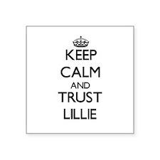 Keep Calm and trust Lillie Sticker