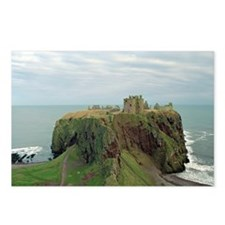 Dunnottar Castle one Postcards (Package of 8)
