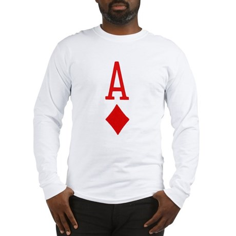 Ace of Diamonds Long Sleeve T-Shirt