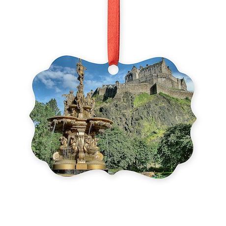 Edinburgh Castle 98 , Scotland Picture Ornament