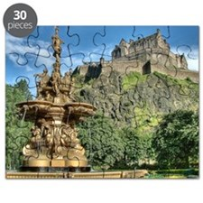 Edinburgh Castle 98 , Scotland Puzzle