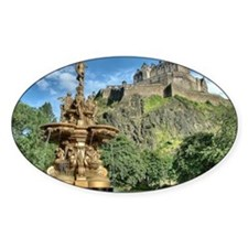 Edinburgh Castle 98 , Scotland Decal