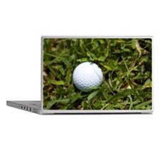 Close Up Image of Golf Ball in Rough Laptop Skins