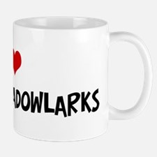 I Love Eastern Meadowlarks Mug