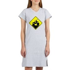 Mud Boggin Diamond Placard Women's Nightshirt