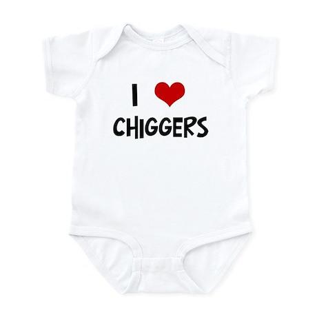 I Love Chiggers Infant Bodysuit