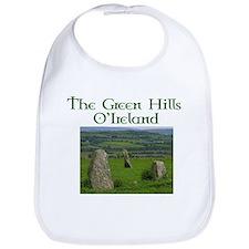 Green hills of Ireland Bib