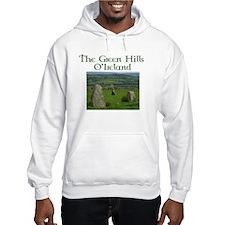Green hills of Ireland Hoodie