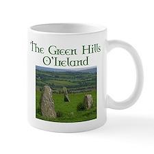Green hills of Ireland Mug
