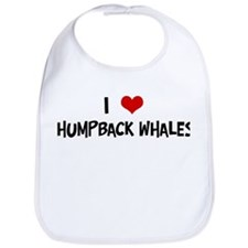 I Love Humpback Whales Bib