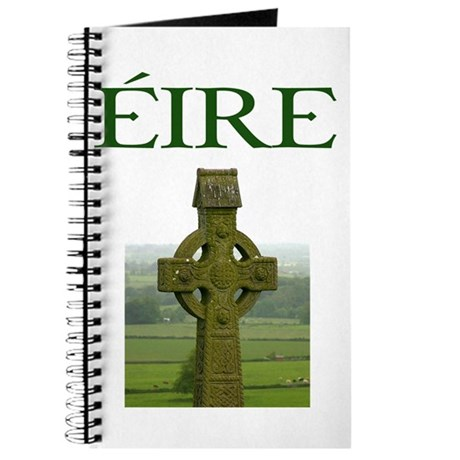 Eire Celtic Cross Journal
