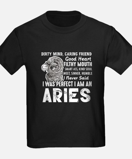 I Was Perfect I Am An Aries T-Shirt