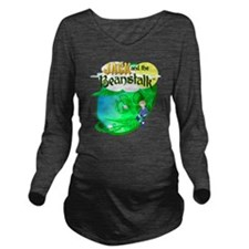 Jack and the Beansta Long Sleeve Maternity T-Shirt