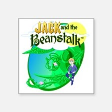 """Jack and the Beanstalk™ T-S Square Sticker 3"""" x 3"""""""