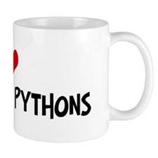 I Love Green Tree Pythons Mug