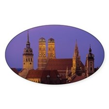 Germany, Munich, Neues Rathaus and  Decal