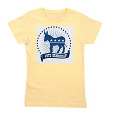 Vote Democrat Girl's Tee