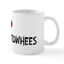 I Love California Towhees Coffee Mug