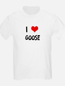 I Love Goose Kids T-Shirt