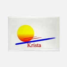 Krista Rectangle Magnet