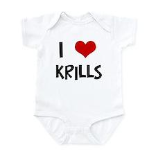 I Love Krills Infant Bodysuit