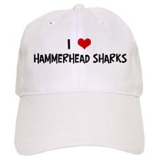 I Love Hammerhead Sharks Baseball Cap