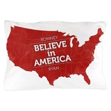 Believe in America Pillow Case
