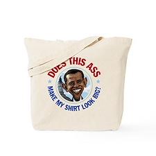 Obama Ass Cartoon Tote Bag