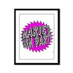 Maries Hen Party Framed Panel Print
