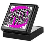 Maries Hen Party Keepsake Box