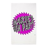 Maries Hen Party 3'x5' Area Rug