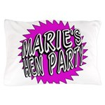 Maries Hen Party Pillow Case