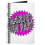 Maries Hen Party Journal