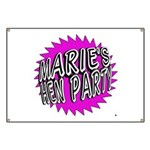 Maries Hen Party Banner