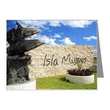 Mexico, Cancun, Isla Mujeres Note Cards (Pk of 20)