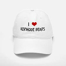 I Love Kermode Bears Baseball Baseball Cap