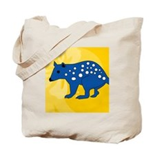 Quolls Luggage Handle Wrap Tote Bag
