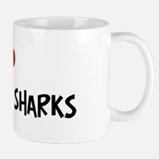 I Love Galapagos Sharks Mug