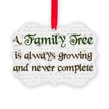 a Family Tree is...  Ornament