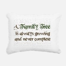 a Family Tree is...  Rectangular Canvas Pillow