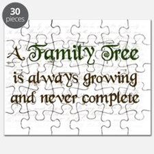 a Family Tree is...  Puzzle