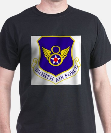 USAF-8th-AF-Shield-Bonnie T-Shirt