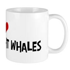 I Love Pygmy Right Whales Mug