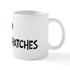 I Love Pygmy Nuthatches Mug