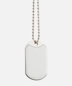 Keep Calm and Cloud On! White Text Dog Tags