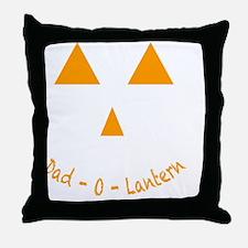 Dad-O-Lantern Throw Pillow
