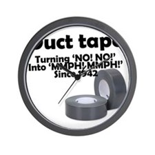 Duct Tape since 1942 Wall Clock