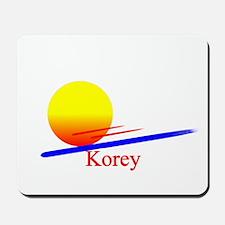 Korey Mousepad
