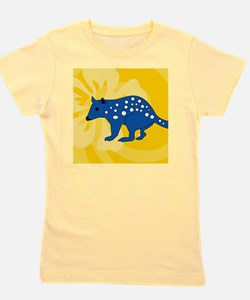 Quolls Snowflake Ornament Girl's Tee