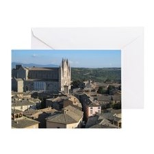 Large 14th century construction. Bui Greeting Card